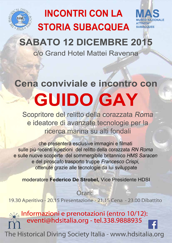 Guidi Gay with HDSItalia in Ravenna