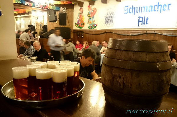 Schumacher Alt, Dusseldorf, great beer and food