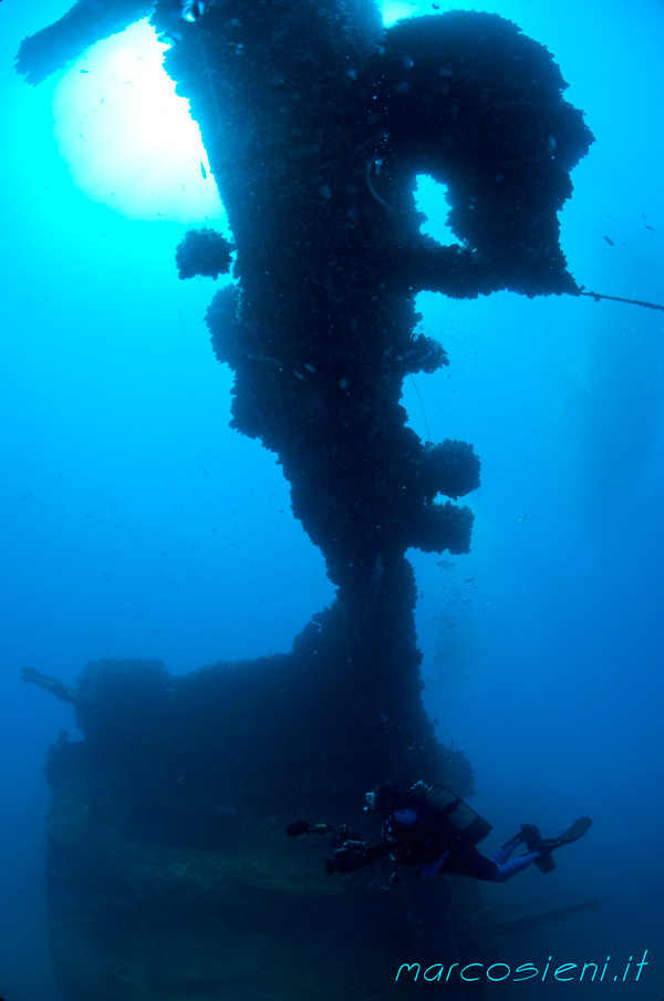 Paguro wreck end august