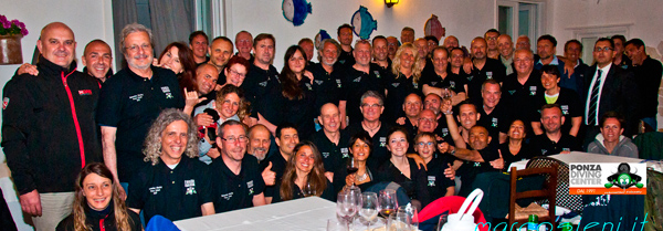 Rebreather Meeting in Ponza Diving