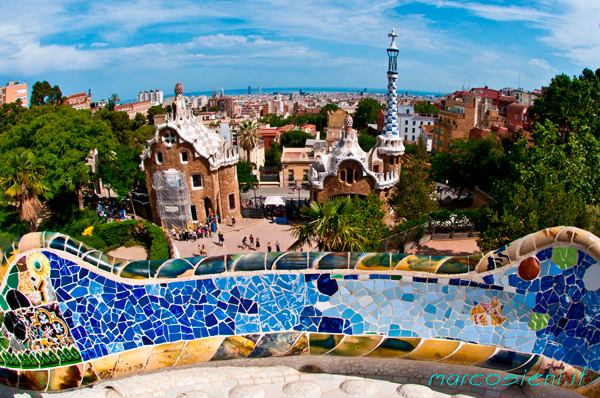 Barcellona Parc Guell & a Catalan lunch