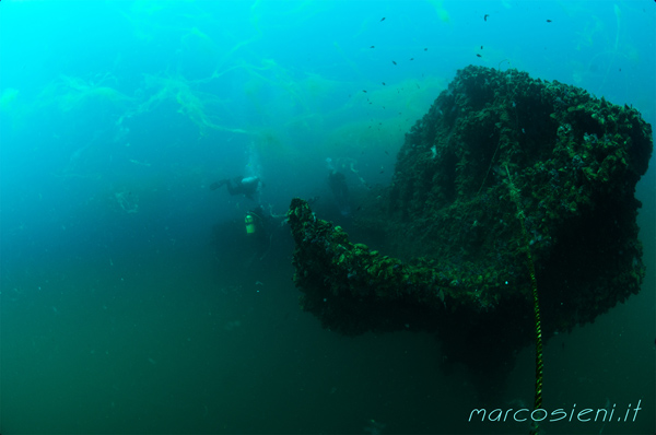 Paguro wreck today