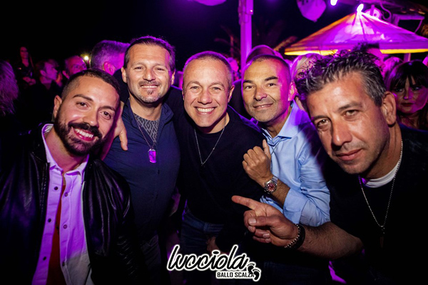 Opening party in Lucciola beach