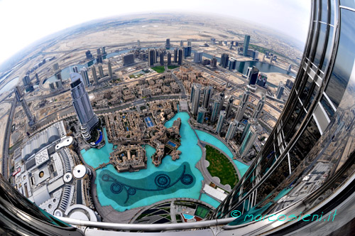 At the Top of Burj Kalifa - Dubai